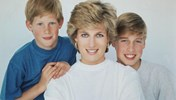 william, harry, diana