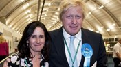 Boris Johnson e Marina Wheeler