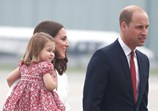 William, Kate, George e Charlotte