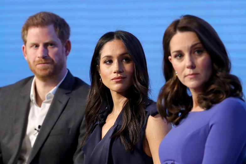 Príncipe Harry, Meghan Markle e Kate Middleton