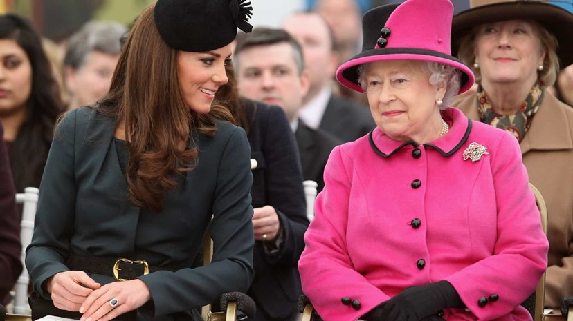 Rainha Isabel II, Kate Middleton