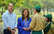 kate, william, paquistão
